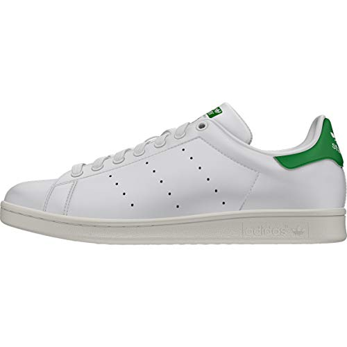 Adidas Stan Smith Zapatillas de deporte Blanco Verde m20324 – 2 – 38, blanco