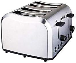 Sanford Bread Toaster 4 Slice 850-1050 Watts, Sf5745Bt,Silver,Stainless Steel
