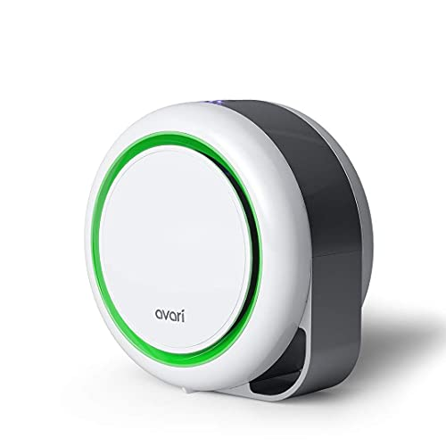 AVARI™ 525 Green Desktop Personal Air Purifier for Filtering Personal Breathing Zone. Ultra Quiet...