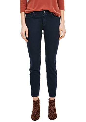s.Oliver Damen Hose Jeans, 58Z8 Dark Steelblue den, 46