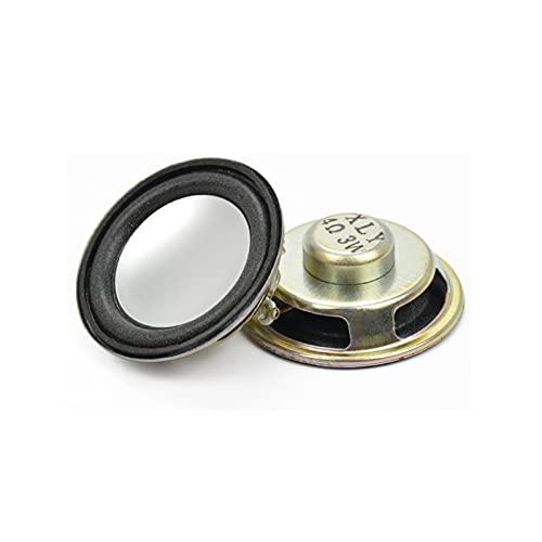 Wnuanjun 2 stücke 45mm Audio Portable Lautsprecher 1.75 Zinch 4 Ohm 3W Full Range Lautsprecher Neodym Magnetic DIY Stereo Box Zubehör