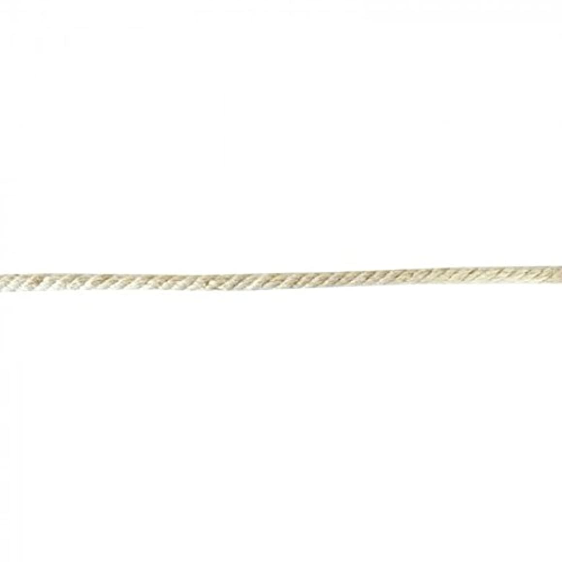 Vaessen Creative Cotton Line Cord, Natural, One Size