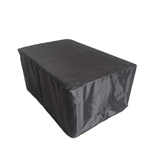 JINJIN Cubierta de polvo, muebles de jardín Muebles de la cubierta protectora exterior cubierta de la lluvia Patio impermeable protector solar a prueba de polvo Vector Y Silla cubierta de polvo (12 ta