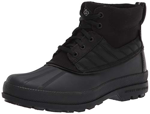 Sperry mens Cold Bay Chukka Bionic Snow Boot, Black/Black/Black, 8 US