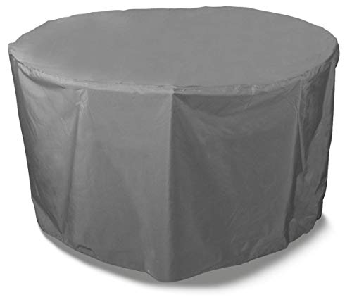 Bosmere Protector 6000 Thunder Grey 4-6 Seat Circular Table Cover - Grey, U545