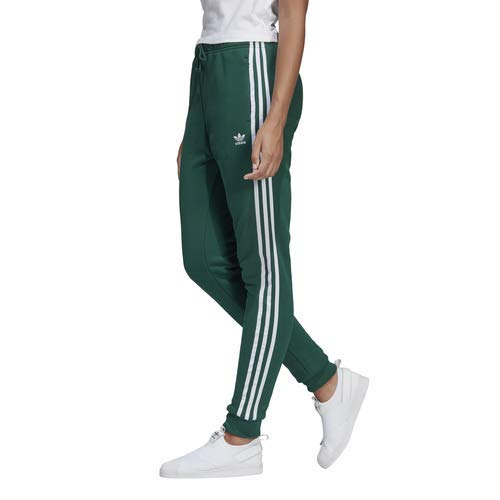 adidas Originals Women's Regular Cuffed Track Pants, collegiate green, Medium