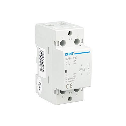 CHINT Contactores modulares serie NCH8 gama domestica y terciaria Tension de bobina...