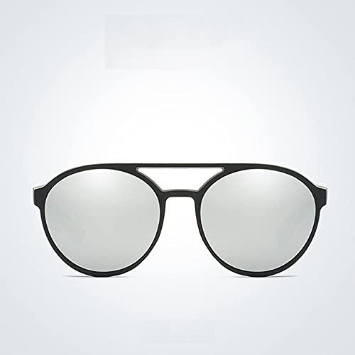 Gafas De Sol Gafas De Sol Punk para Hombre Gafas De Sol Retro Redondas para Hombre Gafas De Sol Vintage para Hombre Espejo Punk Sa