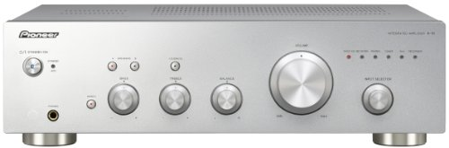Pioneer A-10-S - Amplificador estéreo para Equipo de Audio, Plateado
