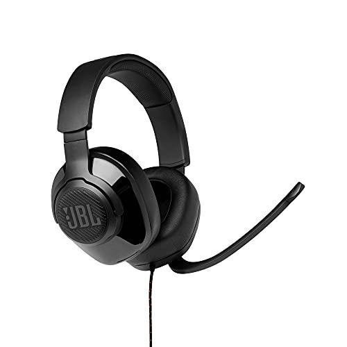 JBL Quantum 300 Over-Ear Gaming-Kopfhörer mit JBL Quantum Engine Software – Schwarz
