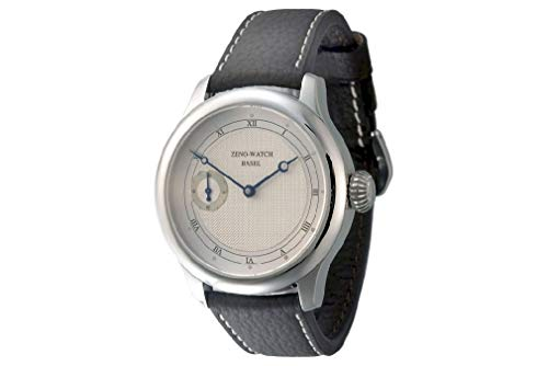 Zeno Watch Basel Herren Uhr Analog Mechanik mit Leder Armband 1461-i3