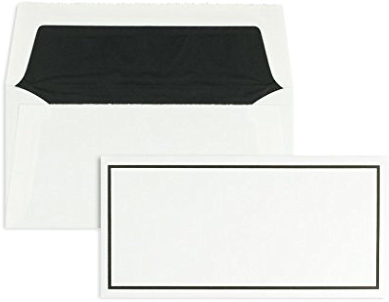 Trauerumschläge   Premium   110 x 220 mm (DIN Lang) Weiß (100 Stück) Nassklebung   Briefhüllen, KuGrüns, CouGrüns, Umschläge mit 2 Jahren Zufriedenheitsgarantie B01CGBML5W   Günstige