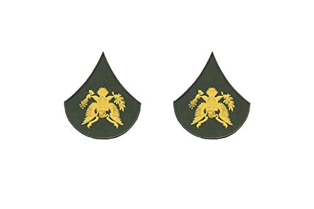 Specialist (SPC) E4 Set of 2 DYI Patches paintball suit