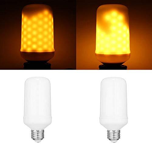 DGDH Bulbos de maíz LED, E27 7.5W 96leds Amarillo 1800-2000K General LightingThree Moders Flame Bombilla AC90-265V Bombilla de iluminación Duradera (Color : 2)