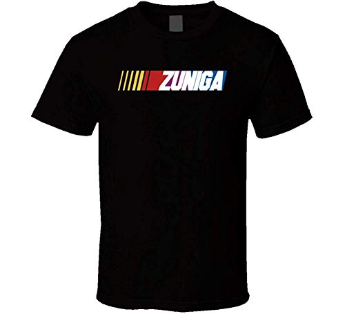 Hayapse Zuniga Nascar Driver Custom Name Special T-Shirt, schwarz XXL