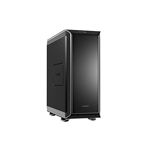 be quiet! DARK BASE 900 ATX Highend PC Gehäuse Aluminium schwarz/silber