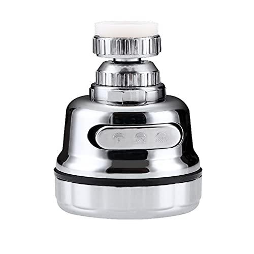 YANGPING HONGHUAER 3Modas Cocina Agua Aerador Aireador Aerador de Agua Difusor de Agua Difusor Burbujero Agua Agua Filtro Filtro Cabeza de Ducha Boquilla Conector (Color : 3Model Shower)