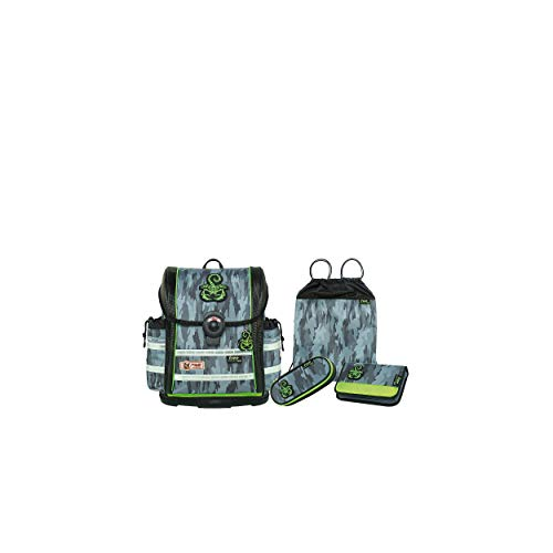 McNeill Fashion-Line Ergo Light 912 S Schulranzen-Set 4tlg.