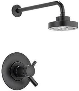 matte black brizo plumbing