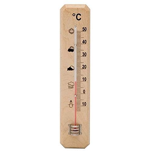 Termometro Pared/Jardin Madera 20 cm.
