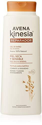 Kinesia - Gel De Baño Avena Kinesia, Reparador para piel seca y sensible 600 ml