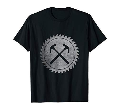schreinre Kreissäge Design, Schreiner Design T-Shirt