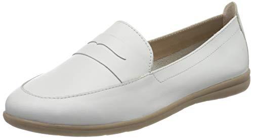 Jana 100% comfort Damen 8-8-24600-26 Slipper, Weiß, 38 EU