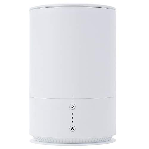 SUNRIZE サンライズ 加湿器 上部給水型 超音波加湿器 1.5L コンパクト 静音 省エネ 卓上 (ホワイト)