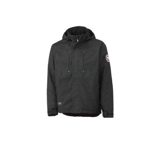Helly Hansen Workwear Men's Berg Insulated Jacket, Black, Large