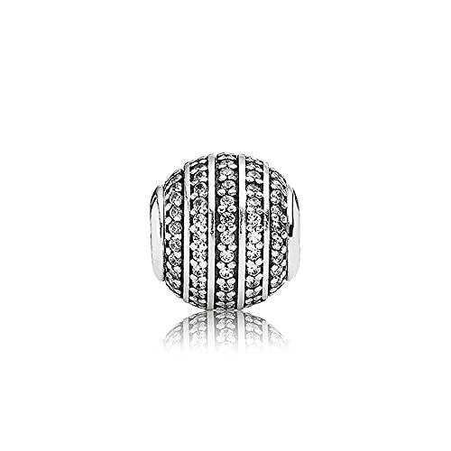 Pandora 925 Charm Silver Bead Confianza Moda Womenessence Pulsera Brazalete Regalo Diy Joyería