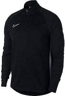 Nike Dry ACDMY DRIL Top Sweatshirt Men's Sweatshirt - Black/Hyper Pink/Hyper Pink, X-Small