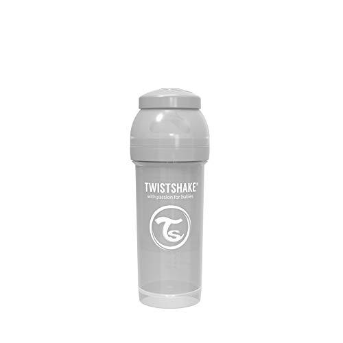 Twistshake 78260 - Biberón, color pastel gris