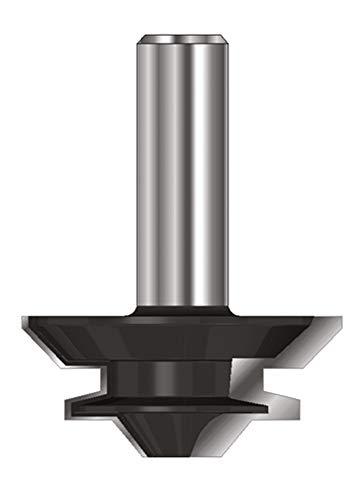 ENT 16401 Gehrungs-Verleimfräser HW (HM), Schaft (C) 12 mm, Durchmesser (A) 44,45 mm, B 19 mm, E 7,5 mm, D 40 mm