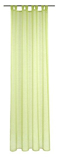 Deko Trends Tenda ad Occhielli, Tessuto, Verde