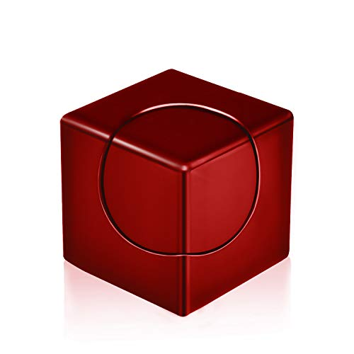 FISH'S CHOICE Fidget Spinner, Spin Stability Alloy Finger Spin Cube, Relief ADHD Anxiety Autism,...