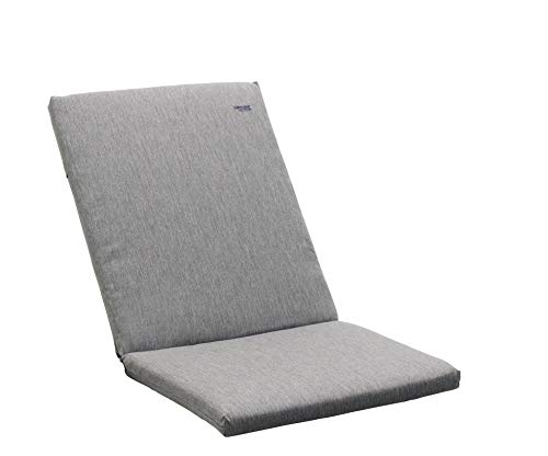 Sieger 55304912KT apilables sillas de Cojines Alto, Antracita