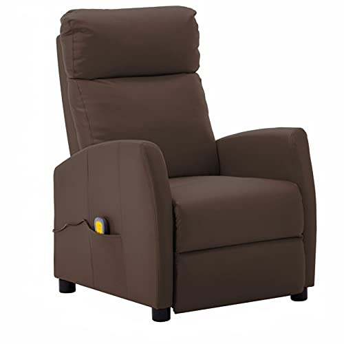 Gawany Sillón de Masaje eléctrico reclinable Sillón Relax...
