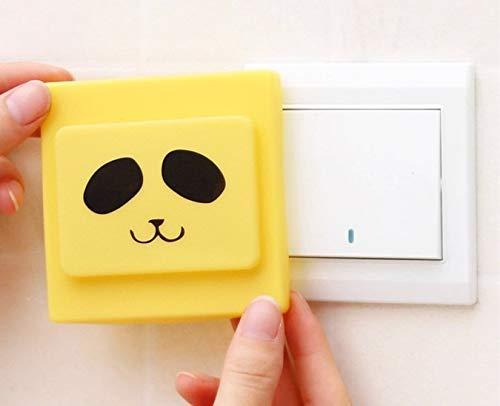 SilicOne Cubierta de Interruptor de luz Impermeable, Suave, Segura con Funda Protectora de Color