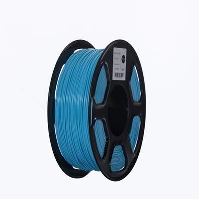 ABS Filament 3D Printer Filament 1.75mm 1kg Printing Materials 3D Plastic Printing Filament toughness (Color : Yellow) GDSZMML (Color : Light Blue)