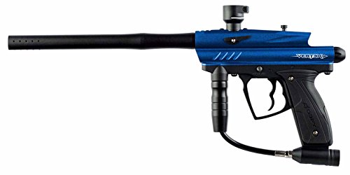 D3FY Vertex Semi Auto Paintball Marker Gun, Dark Blue