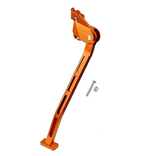 shuai para Kickstand Soporte del Retroceso Side for KTM SX 125 150 SXF 250 350 450 2016 2017 2018 2019 Dirt Billet Aluminio Accesorios for Bicicletas Piezas (Color : Orange)