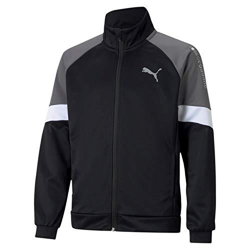 PUMHB|#Puma Active Sports Poly Jacket B, Giacca Tuta Bambino, Puma Black, 116