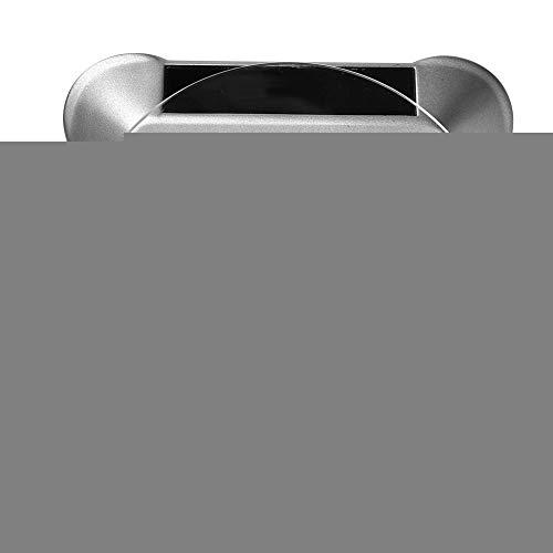Simlug 【𝐎𝐟𝐞𝐫𝐭𝐚𝐬 𝐝𝐞 𝐁𝐥𝐚𝐜𝐤 𝐅𝐫𝐢𝐝𝐚𝒚】 Bandeja de exhibición giratoria para joyería Modelo de joyería Producto Coleccionable y Otras Cosas pequeñas(Plata)
