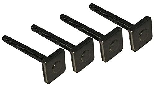 4 Nutsteine M8x60mm Dachträger Relingträger T-Nut Adapter Nutensteine 20x20mm