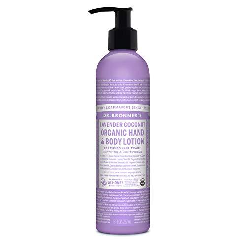 Dr. Bronner\'s Body Lotion Lavendel-Kokos, 237 ml
