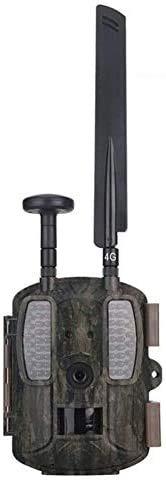 GPS 4G 1080P 12MP Wildkamera Fotofalle mit Handy übertragung, IP66 wasserdichte Jagdkamera mit bewegungsmelder 54 Pcs Low-Glow 940nm Infrarot-LEDs, Infrarot-Nachtsicht 20m mit Sonnenkollektoren