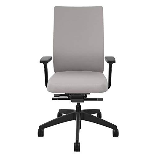 Sedus se:do Bürostuhl, Schreibtischstuhl, individuell anpassbar, ideal fürs Home-Office (Platingrau)