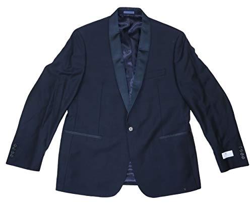 Ryan Seacrest Distinction Men's Modern Fit Wool Tuxedo Suit Jacket (Navy, 44 Regular)