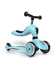 Scoot & Ride Uniseks – dziecięca Highwaykick 1 kickboard z siedziskiem