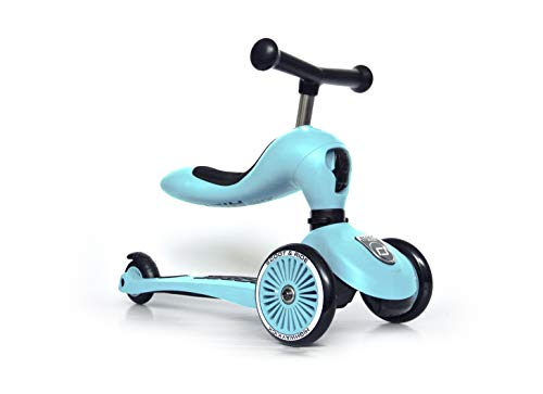 SCOOT & RIDE HIGHWAYKICK One Patinetes, Adultos Unisex, BLUEBERRY (Azul), Talla Única